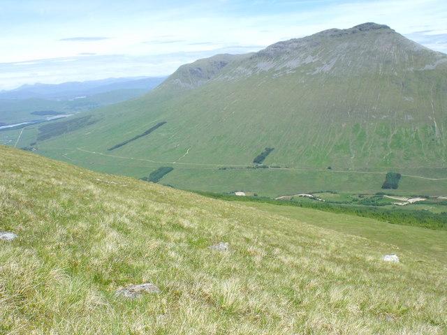 North-east slopes of Beinn Bhreac-liath near Tyndrum