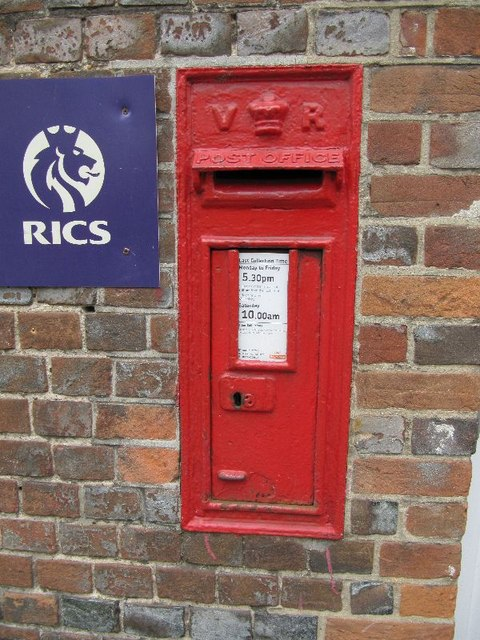 Postbox by the surgery