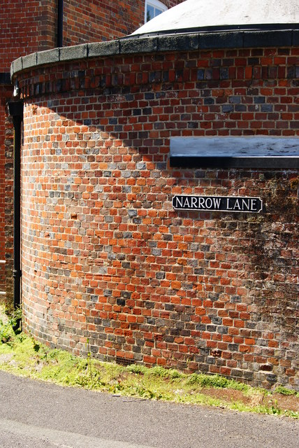 Wall on Narrow Lane, Romsey, Hampshire
