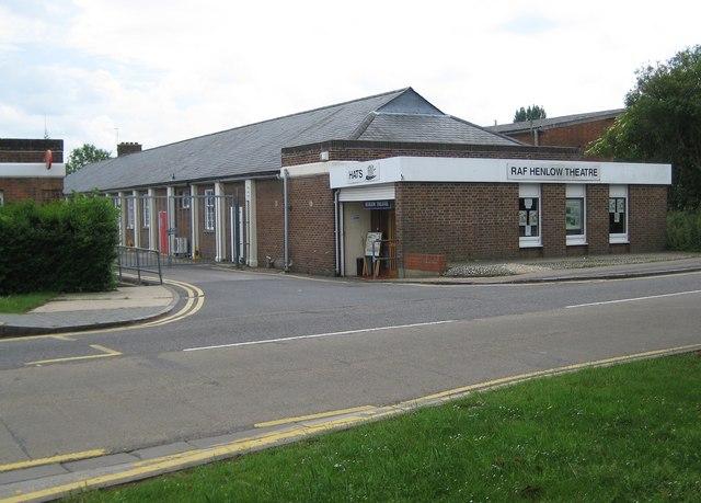Henlow Camp: RAF Henlow Theatre