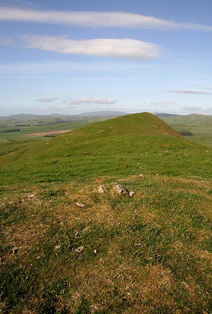 The summit of Goshen Hill