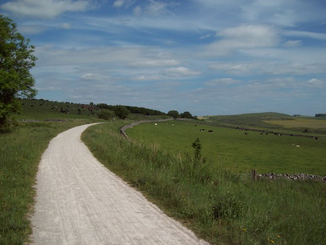 The High Peak Trail near Cotesfield Farm