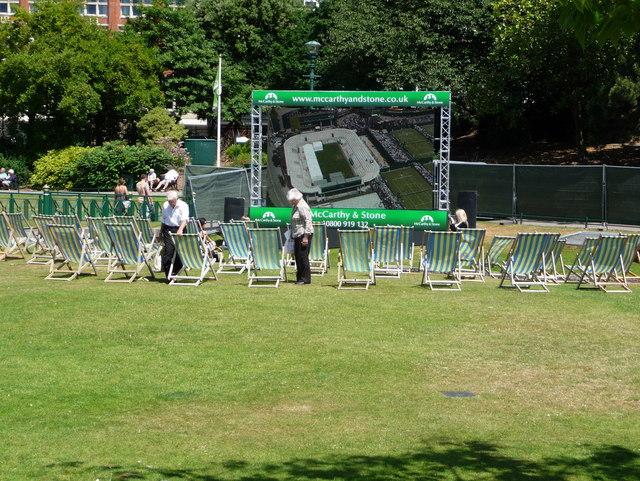 Bournemouth: Wimbledon on big screen
