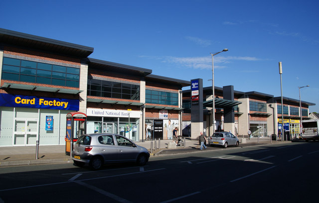 Cheetham Hill shopping precinct