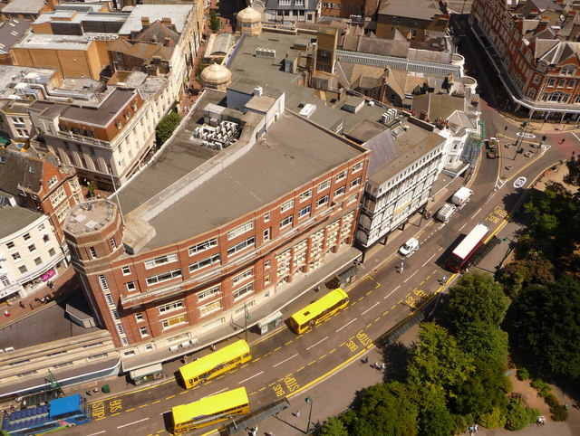 Bournemouth: Gervis Place from above