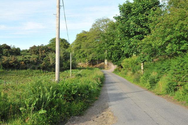 Road to Achnalarig