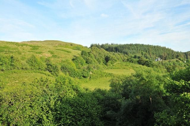 Glen Cruitten near Oban