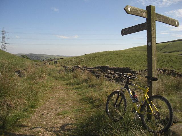 Pennine Bridleway near Turn Slack Clough