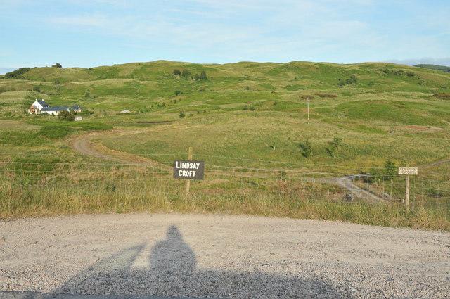 Crofting land near Connel