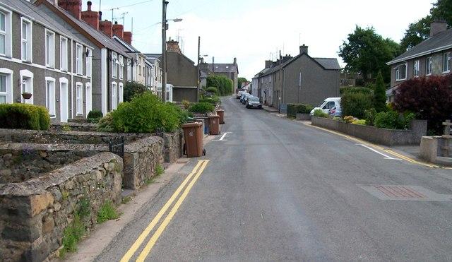 The B4415 at Efailnewydd