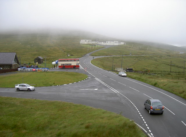 Junction of the Mountain Road and Brandywell road
