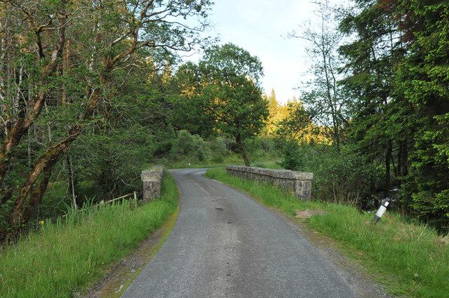 Bridge over Dearg Abhainn near Barcaldine