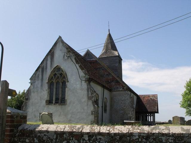 St. John the Baptist, Chalvington, East Sussex