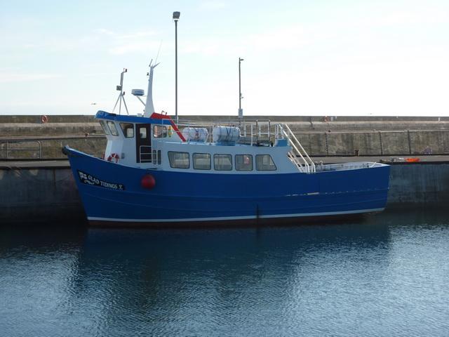 Glad Tidings, Seahouses Harbour