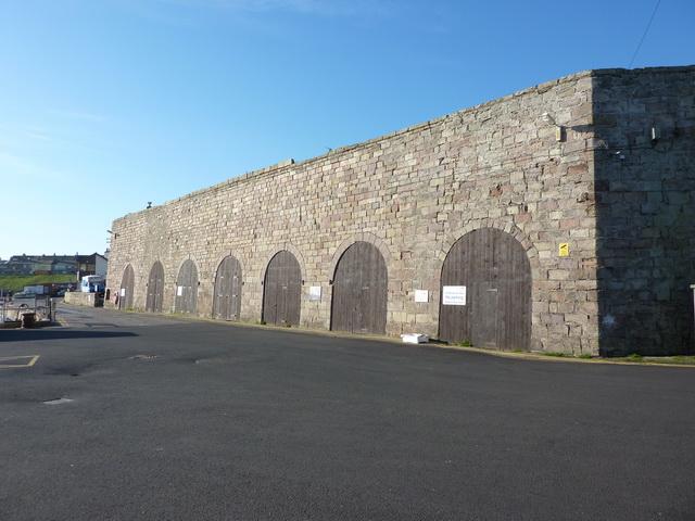 Building, Seahouses Harbour