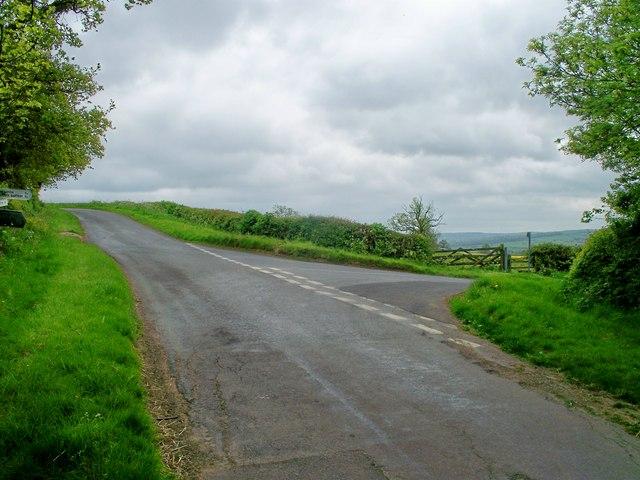 Start of footpath