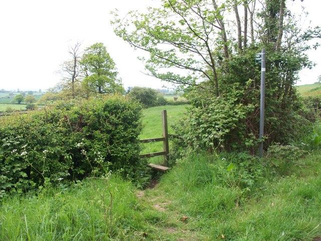 Footpath to Ebrington [3]