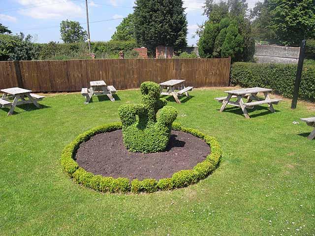 Topiary at the Anchor Inn