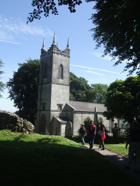 Former Protestant Church at Hill of Tara