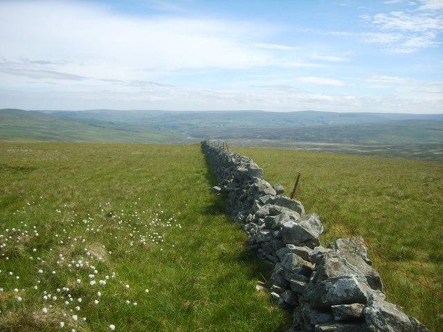 Wall, Little Knapside Hill