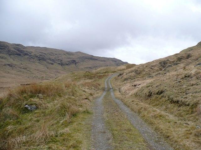 Upper Glen Shira track