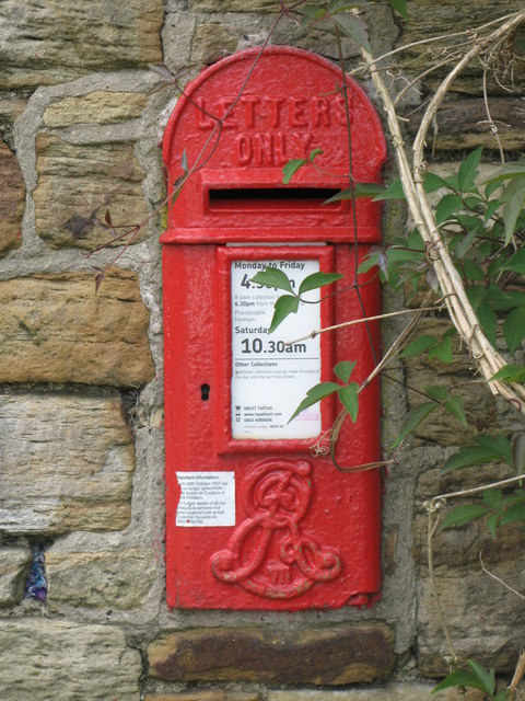 Edward VII postbox, Kellah