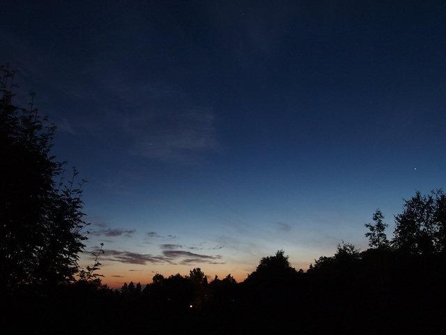 Sunrise after the shortest night