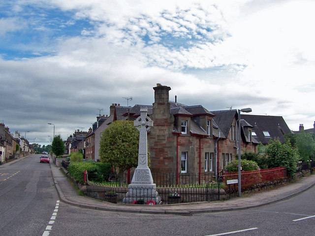 War memorial, Maryburgh