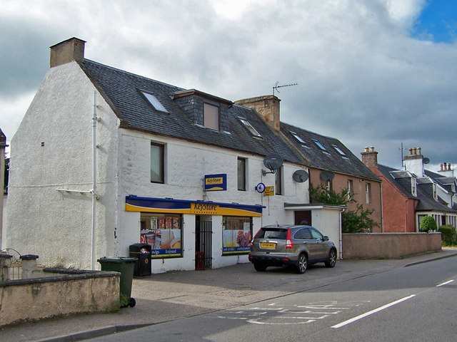 Convenience store, Maryburgh