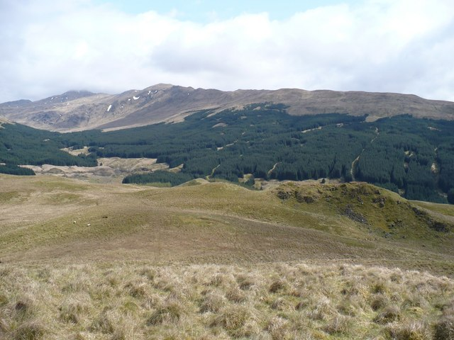 West side of Glen Shira