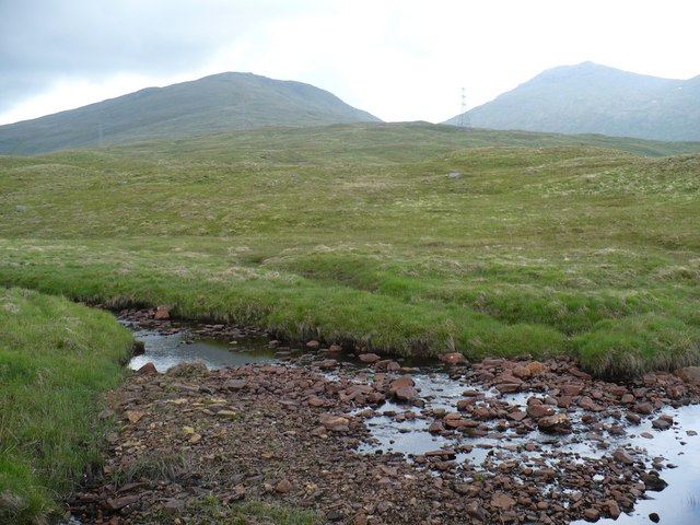 Across the Allt a'Mhinn