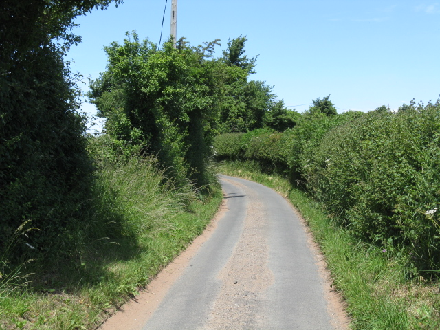 Rural lane, deepest Worcestershire