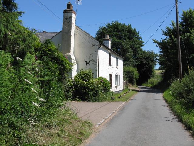 Cottage near Brook Farm