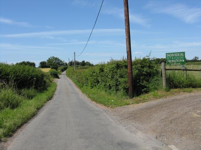 Lane near Conhampton