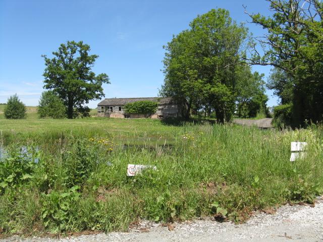 Derelict building near Wyneyards