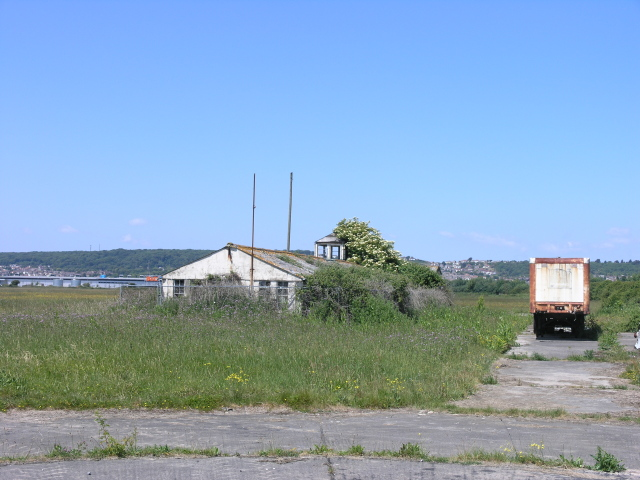 Remnants of Weston Airfield