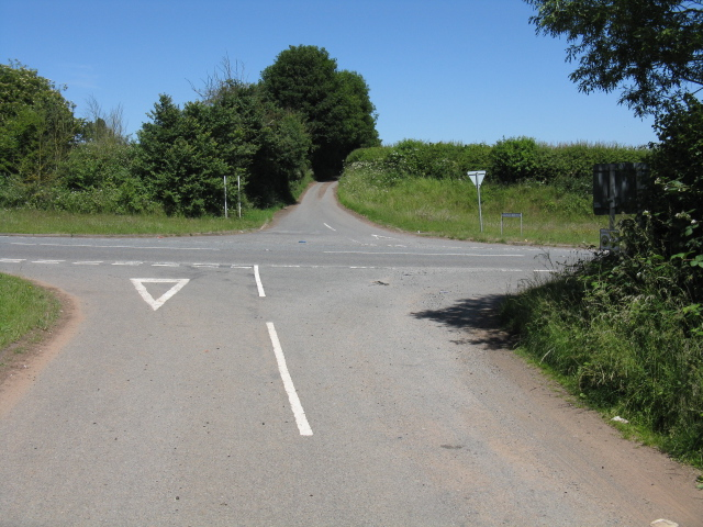 Crown Lane crossroads
