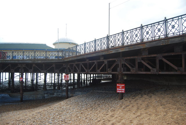 Ironwork, Hastings Pier