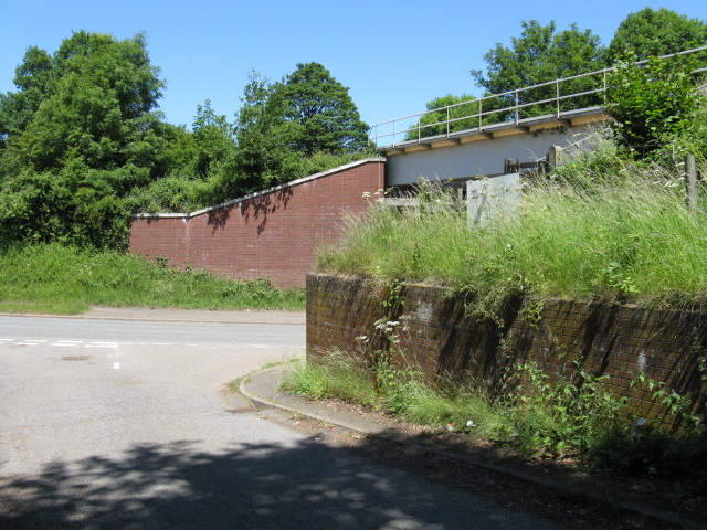 Crown Lane railway overbridge