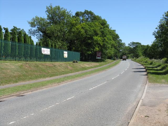 Crown Lane at the trading estate