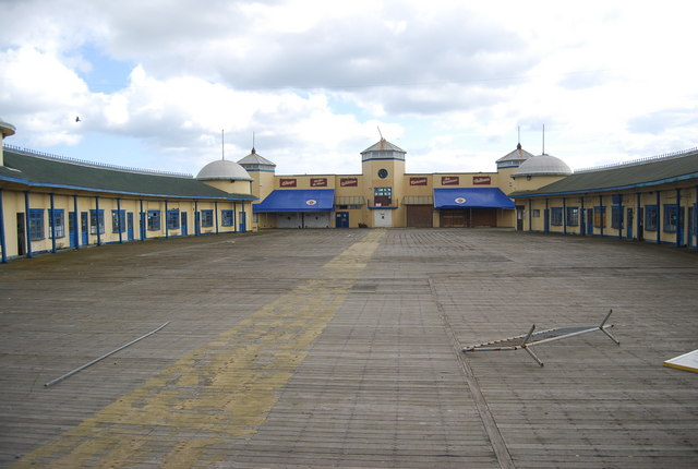 Deserted Hastings Pier