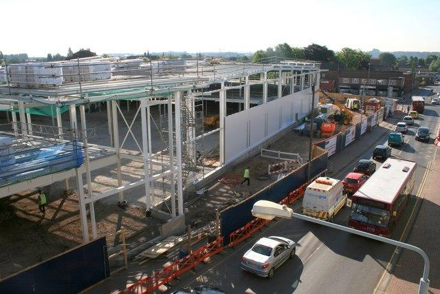 Building Beeston Tesco 22nd June 2010