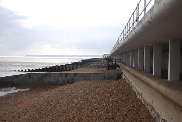 Groynes, Hastings beach