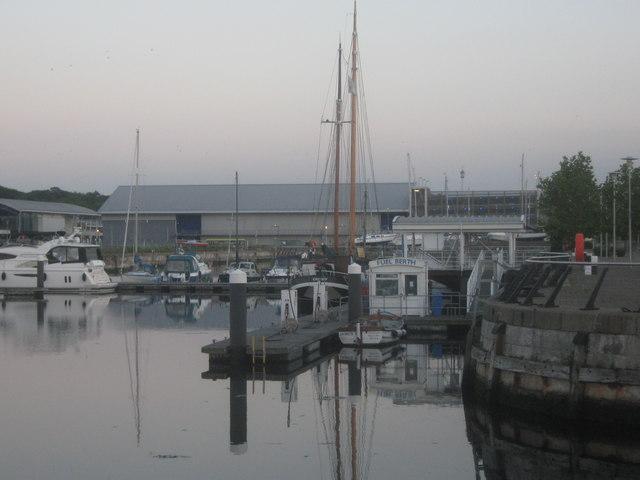 Fuel Berth of Chatham Maritime Marina