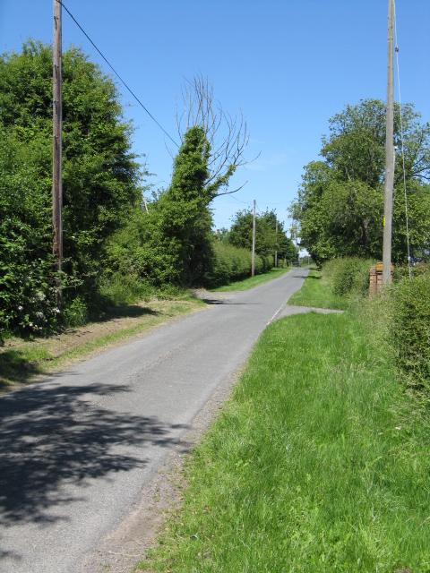 Lane at Sneads Green
