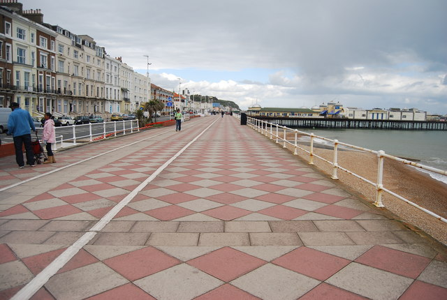 Patterned Promenade, Hastings