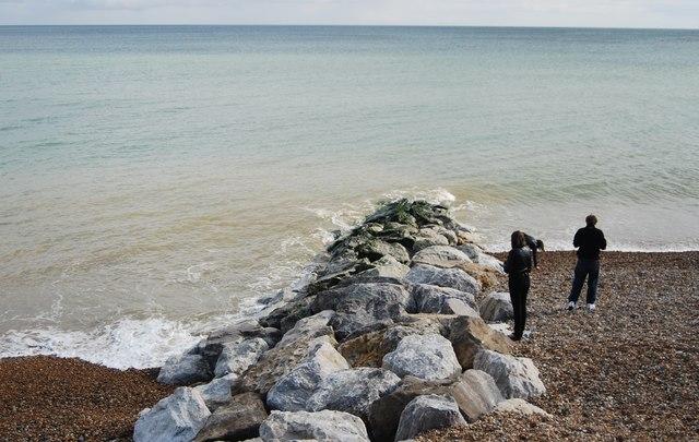 Rock Groyne, Hastings Beach