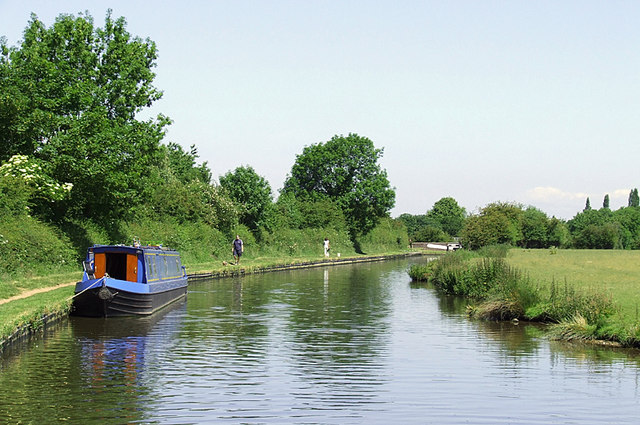 Staffordshire and Worcestershire Canal north of Penkridge, Staffordshire