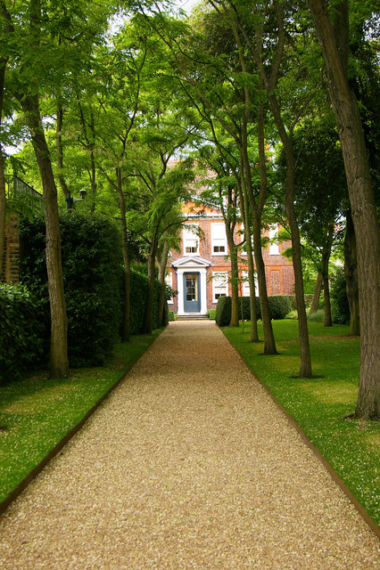 Approach to Fenton House, Hampstead