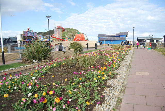 Flower beds, Hastings